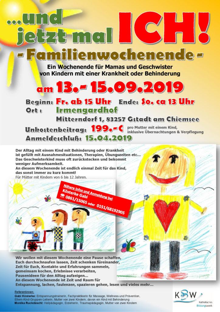 Familienwochenende Irmgardhof September 2019